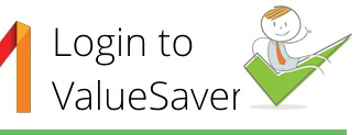 Step one, login to ValueSaver
